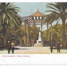 Italy Napoli Villa Municipale Cassa Armonica Vintage Naples Postcard