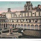 Italy Napoli Chiostro di S Martino Cloisters Courtyard Naples Vintage Ragozino Postcard