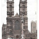 UK London Westminster Abbey Gothic Church Vintage Hartmann Postcard ca 1908