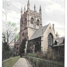 UK Oxford Merton College St Johns Church Vintage Valentine Series Postcard ca 1908
