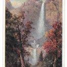 Prudential Insurance Co Yosemite Falls Mariposa CA Halftone Advertising Postcard