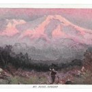 Prudential Insurance Co Mt Hood Oregon Advertising Postcard