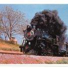 Strasburg Railroad Route 741 PA Steam Locomotive No 90 Train RR 4X6 Postcard