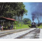 Strasburg Railroad Groffs Grove Picnic Stop Train RR 4X6 Postcard