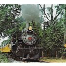 Strasburg Railroad Steam Locomotive No 89 Eshleman Run Train RR 4X6 Postcard