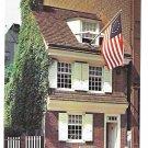 Betsy Ross House Philadelphia PA Birthplace Old Glory Vintage Postcard