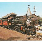 New Hope Ivyland Railroad Steam Train Bucks County PA Station 1972 Postcard