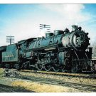 Railroad Delaware Lackawanna Western Pacific 1119 Mountain View NJ 1953 Train Postcard RR