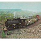 Sightseers Ride Old Steam Lokie Anthracite Coal Train Postcard Ashland PA RR