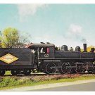 Wilmington Western Railroad Steam Locomotive No 92 Train Railway Postcard