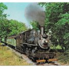 Strasburg PA Oldest Shortline Railroad 1890 Period Steam Locomotive Train Railway Postcard