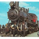 Amish Boys Strasburg Railroad Old 98 Steam Locomotive Train Railway Postcard