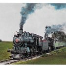Strasburg Railroad Doublehead No 1223 No 31 Steam Locomotives PA Train Postcard