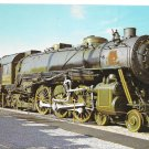 Baltimore Ohio Railroad B&O President Washington Locomotive 5300 Train Postcard