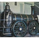 Reading Railroad Rocket Locomotive Built 1838 Train Franklin Institue Postcard