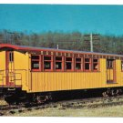 CP&W Carroll Park Western Steam Railroad Museum Comb Coach No 32 Train Postcard