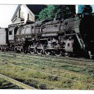 C&O RR Chesapeake & Ohio Railroad 601 Greenbrier 4-8-4 Locomotive Train Postcard