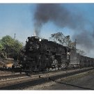 Nickle Plate Road Locomotive 765 Coal Train 2-8-4 Fort Wayne 1956 Railroad Postcard