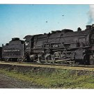 Pennsylvania Railroad PRR Baldwin Class I Decapod Locomotive 4579 Train Postcard
