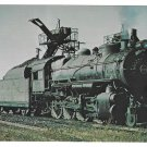 RR Pennsylvania Railroad PRR Consolidation 2-8-0 Locomotive 8382 Train Postcard