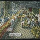 LA Unloading Bananas New Orleans Louisiana E.C. Kropp Linen Postcard