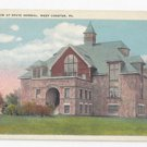 PA West Chester State Normal School Gymnasium Vintage 1920s Fath Postcard