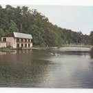 Media PA Broomall's Lake Country Club Rowboat Swimming Pool Vintage 1975 Postcard