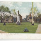 Civil War Soldiers Monument Mt Vernon NY Farnsworth Park Vintage New York Postcard