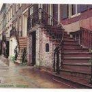 GA Savannah Gordon Row 19th C Historic Houses Vintage 4X6 Postcard Jordon