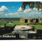 GA St Simons Island Georgia Fort Frederica Werner Bertsch Photo 4X6 Postcard