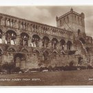 UK Scotland Jedburgh Abbey from South Vintage Valentines Real Photo Postcard