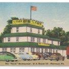 Farm Restaurant Florence PA ca 1945 Vintage Linen Postcard