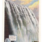 Niagara Wall Papers Co American Falls NY Curteich Vintage Advertising Postcard