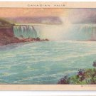 Shredded Wheat Advertising Canadian Falls Niagara Falls NY Vintage Postcard