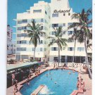 New Richmond Hotel Swimming Pool 1961 Miami Beach FL Florida Postcard