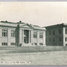 Public Library City Hall Greeley CO 1911 Vintage Colorado Postcard