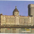 India Taj Mahal Palace Hotel Taj Intercontinental Tower Bombay Mumbai 1970's 4X6 Postcard