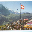Switzerland Grindelwald Bergrestaurant Alps Restaurant 4X6 Postcard 1972