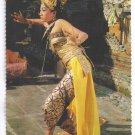 Balinese Legong Dancer Indonesia Bali Vintage 4X6 Postcard 1977