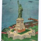 Statue of Liberty NY Bedloe's Island Manhattan Post Card Publishing New York