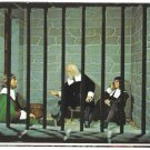MA Plymouth Wax Museum Boston Jail England Vintage Massachusetts Postcard