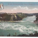 Ontario Canada Niagara Falls Great Whirlpool Lower Gorge Vintage Postcard