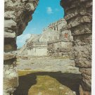 Mexico Tulum Inner Citadel Southern Entrance Quintana Roo Vntg Postcard