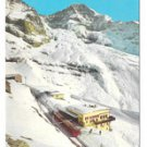Switzerland Alps Jungfraujochbahn Train Eiger Glacier Vtg Postcard 4X6