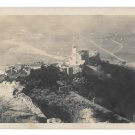 Italy Assisi Birds Eye View Basilica di S. Francesco Cathedral Church Vtg Postcard