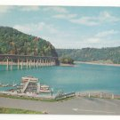 MD Cumberland Great Crossing Youghiogheney River Bridge Boats US 40 Vtg Postcard