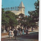 Greetings From Ocean Grove NJ Auditorium Sunday Services Vntg Postcard