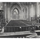 UK London Temple Church The Choir Valentines Series Vintage Postcard