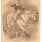 George Washington Horseback Vtg Embossed UDB Patriotic Postcard ca 1910