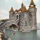 NY Thousand Islands Heart Island Power House Castle Moat Vintage c 1915 Postcard